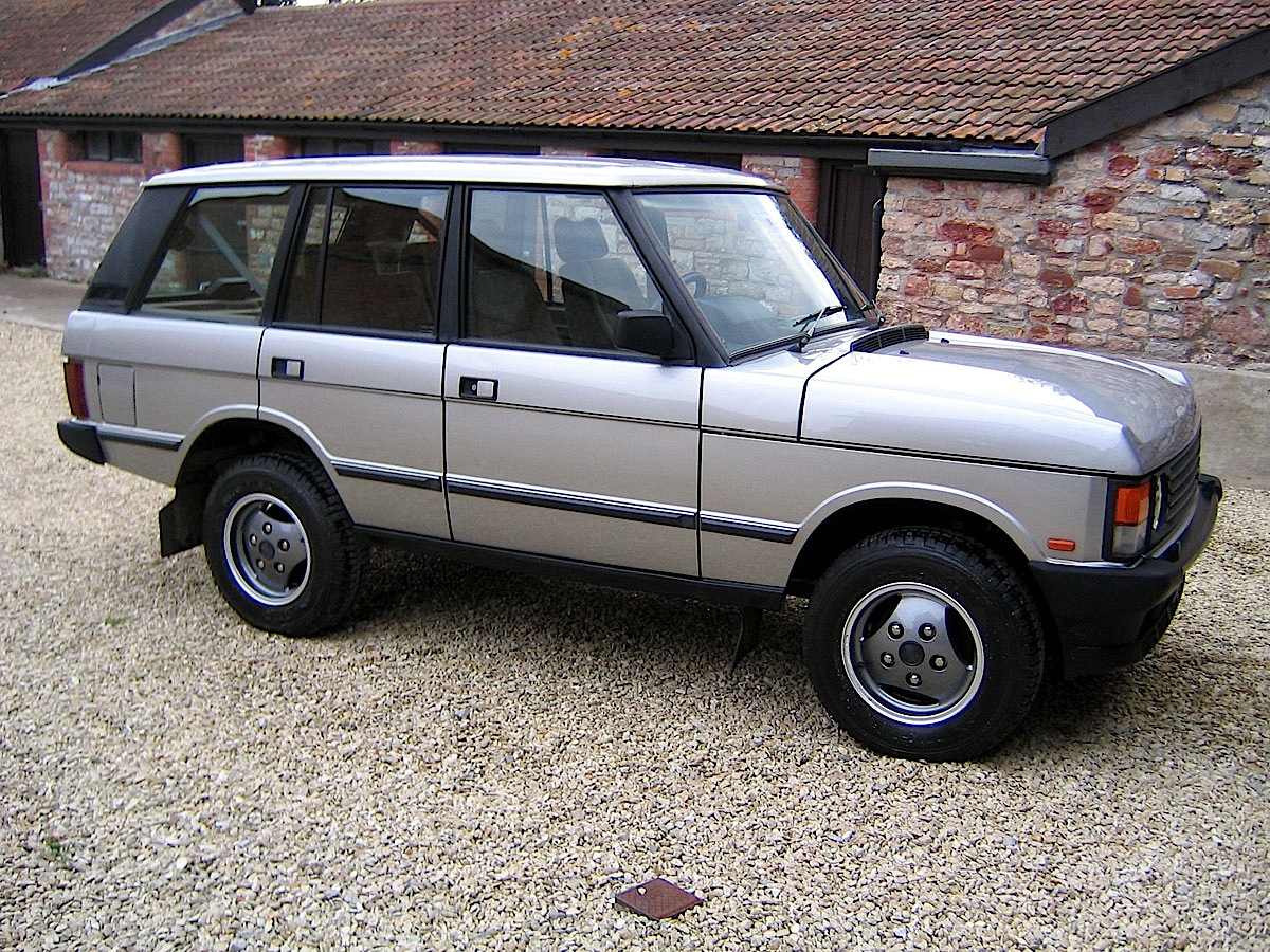 Faded Glory 1991 Range Rover Classic Fleet First